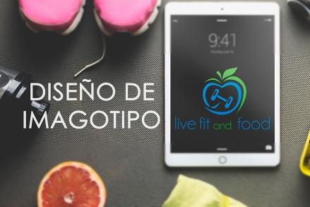 Logo montaje en tableta