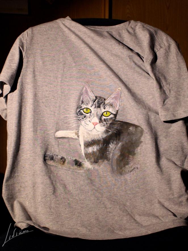 pintura-gato-camiseta