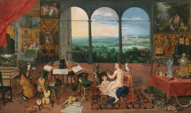 el-oido-Jan Brueghel el Viejo y Rubens
